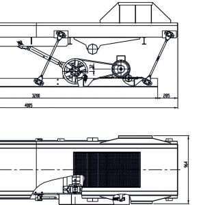 Вибротранспорт - 4м с вградено сито