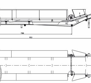Схема на лентов транспортьор